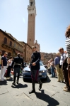 The Milia arrives in Siena