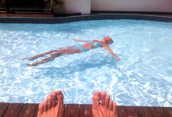 Eden Roc pool Positano