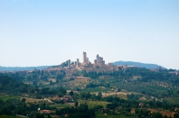 San Gimignano from a distance