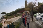 Irene, Gill and Jean admire the view from Ravello