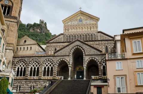 The cathedral of Sant'Andrea in Amalfi