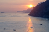 Positano sunset - 3 November