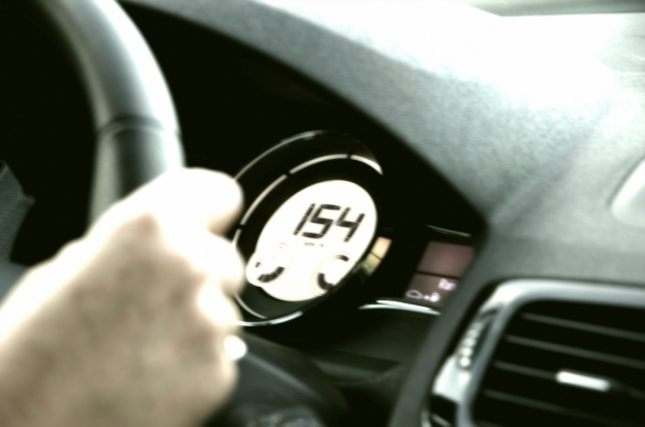 Jean at 154 km/h on the way to Calais
