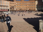 Polizia in the Campo Siena
