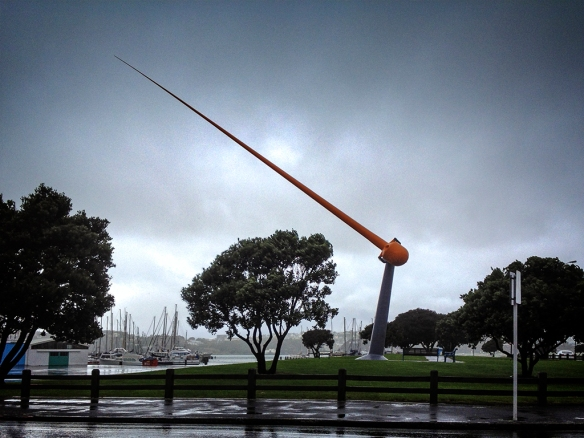 Zephyrometer on a windy day
