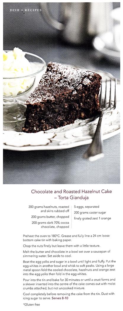 Torta Gianduja Recipe