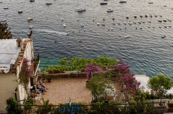 Old Couple in Positano