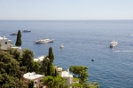 Super yachts with  with super villas in front