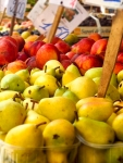 Peaches and Pears after tilt shifting