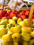 Peaches and Pears - Ortygia market