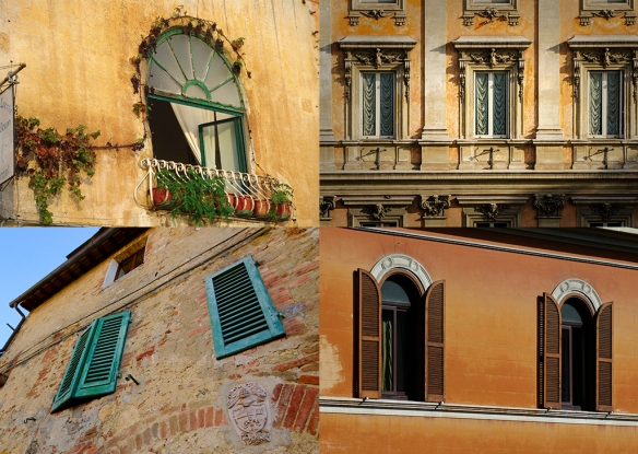 Italy wall montage