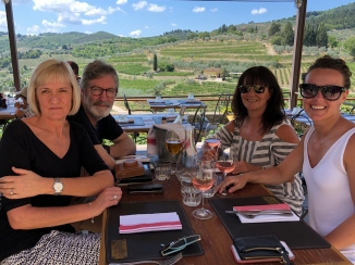 Lunch at Il Guerrino in Montefioralle